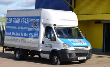 Professional Man and Van - Removals Company in Roding Valley