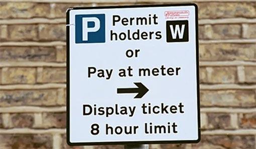 Man with Van London - Parking Permit in London
