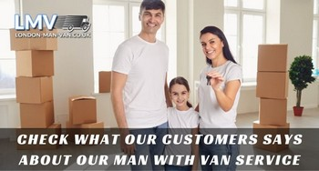 Very good service provided by Man with a Van London