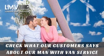 Great, friendly and hard working staff from Man with Van London