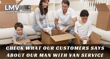 Deserved tip to the guys drom Man with Van London