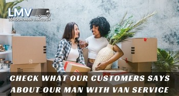 Great movers from Man with Van London