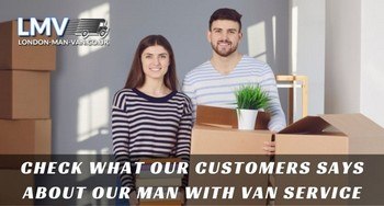 Everything went fine when moving with Man with Van London