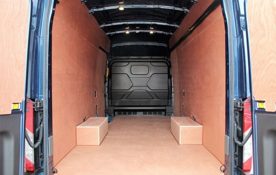 Extra Large Van and Man Hire London - Inside View