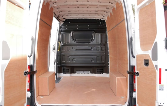 Large Van and Man Hire London - Inside View