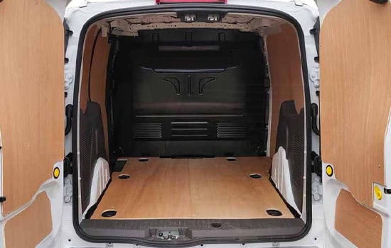 Small Van and Man Hire London - Inside View